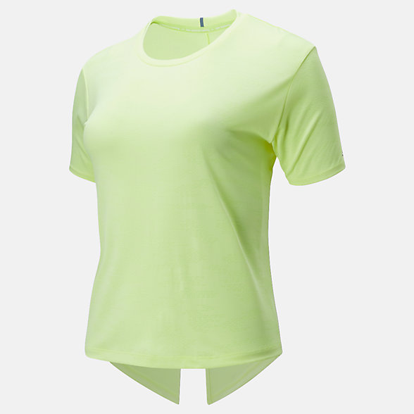 New Balance Q Speed Jacquard Short Sleeve Tee, WT01255LS3