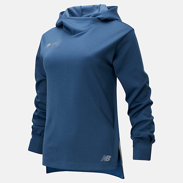 NB London Edition Q Speed Run Crew Sweatshirt , WT01261DSNH