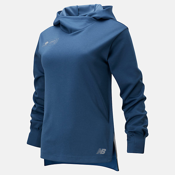NB London Edition Q Speed Run Crew Sweatshirt, WT01261DSNH