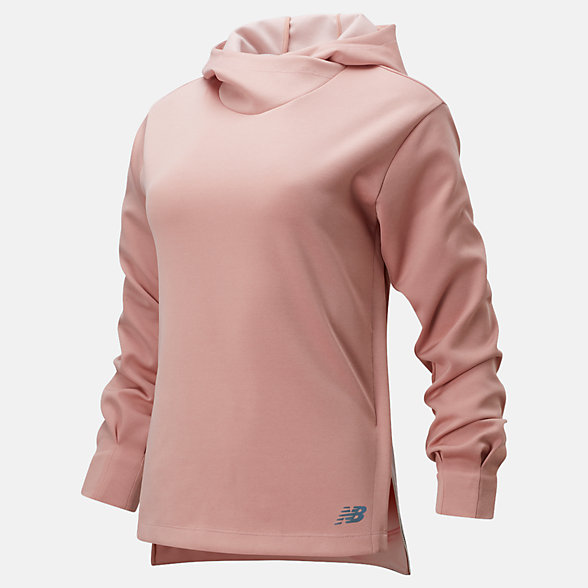 New Balance Q Speed Run Crew Sweatshirt, WT01261FCH