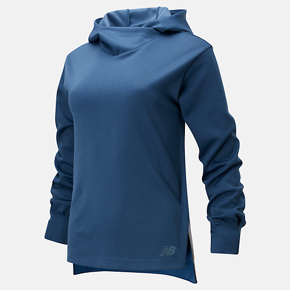 New Balance Q Speed Run Crew Sweatshirt, WT01261SNH