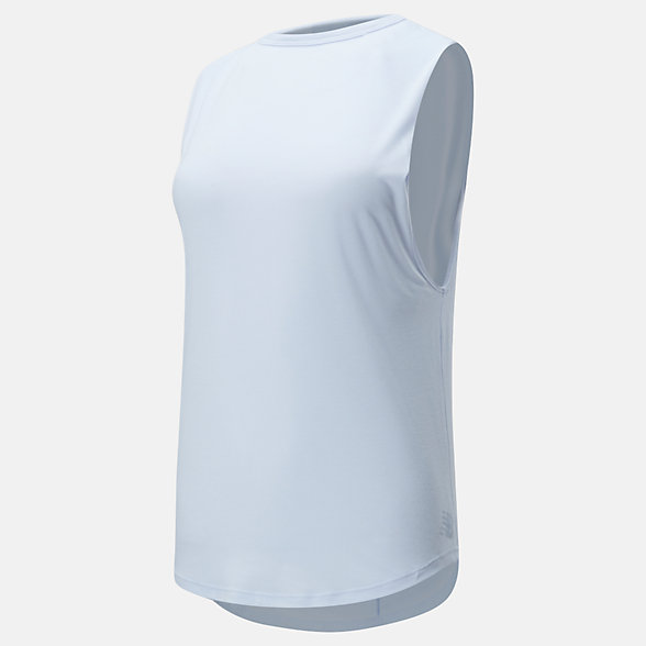New Balance Camisole ouverte au dos à superposer Evolve, WT01453MND