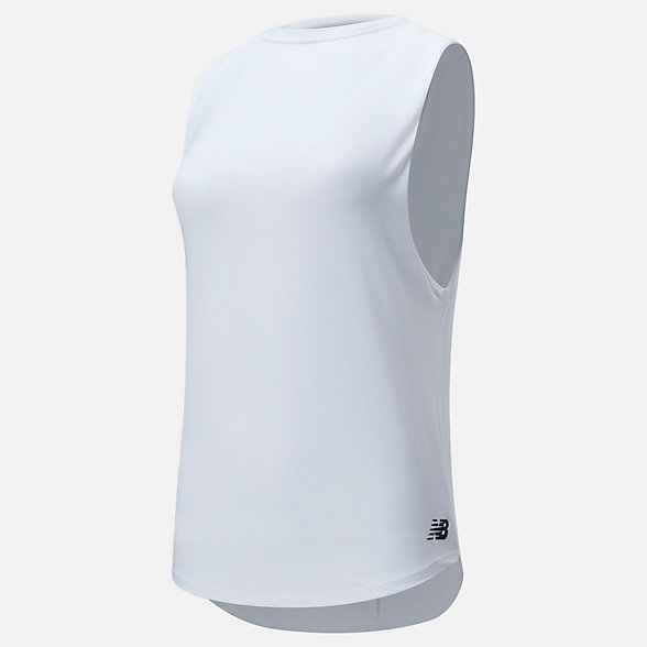 New Balance Evolve Open Back Layer Tank, WT01453WT