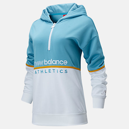 New Balance NB Athletics track Inspired Hoodie, WT01502WAX image number null