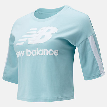 New Balance NB Athletics Short Sleeve Stacked Tee, WT01505DRZ image number null