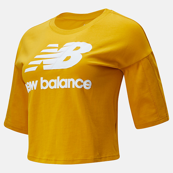 New Balance NB Athletics Short Sleeve Stacked Tee, WT01505VGL