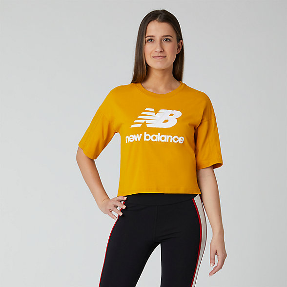 NB NB Athletics Short Sleeve Stacked T-Shirt, WT01505VGL