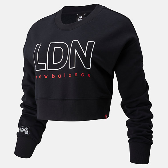 NB London Edition Essentials Icon Crew, WT01513DBK