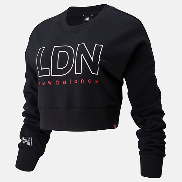 NB London Edition Essentials Icon Crew , WT01513DBK