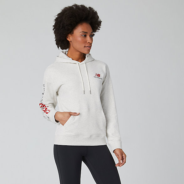 New Balance Essentials Icon Pullover, WT01514SAH