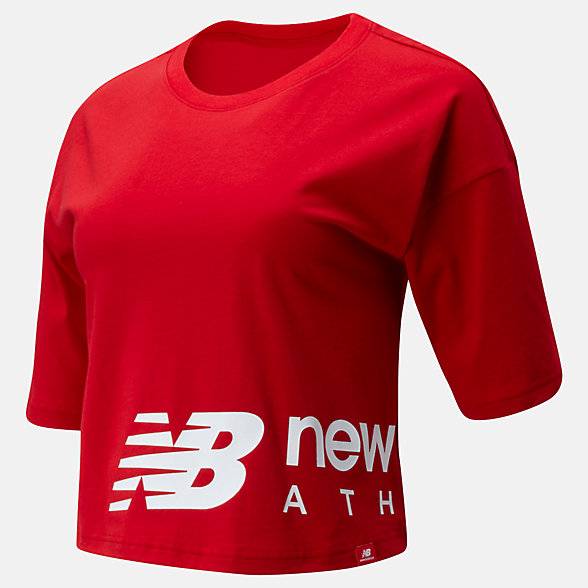 NB Essentials Icon Graphic Boxy Tee, WT01515REP