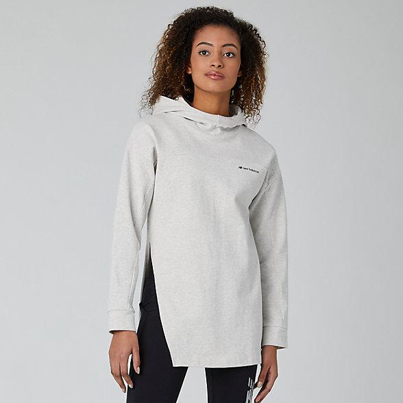 New Balance Chandail à capuche à manches longues Sport Style, WT01521SAH