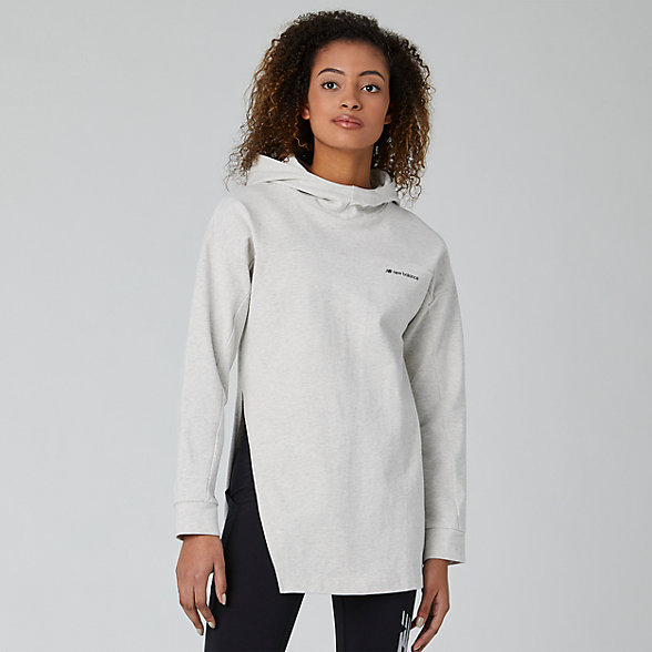 New Balance Sport Style Long Sleeve Hoodie, WT01521SAH