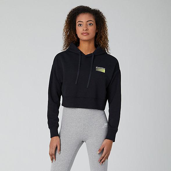 New Balance Sport Style Optiks Hoodie, WT01523BK
