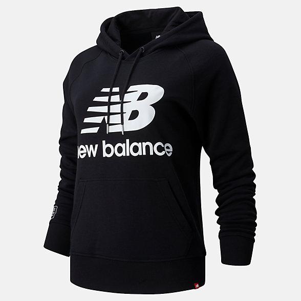NB London Edition Essentials Pullover Kapuzenpullover, WT01523DBK