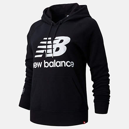 NB London Marathon Essentials Pullover Hoodie, WT01523DBK image number null