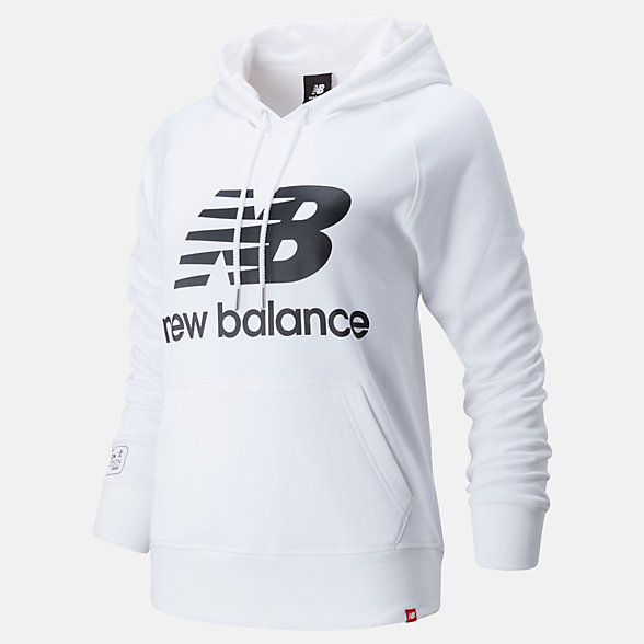 NB London Edition Essentials Pullover Hoodie , WT01523DWK