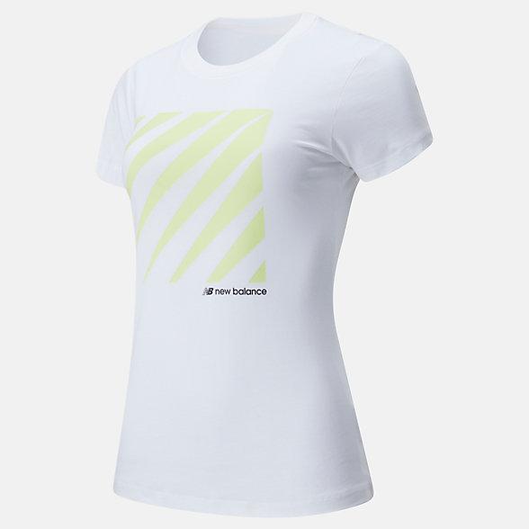 New Balance Sport Style Optiks Short Sleeve Tee, WT01526WT