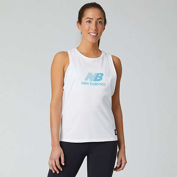 New Balance Archive Run Tank, WT01557WT