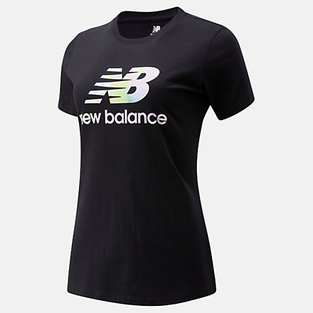 New Balance Essentials Soft Spectrum Graphic Tee, WT01569BK image number null