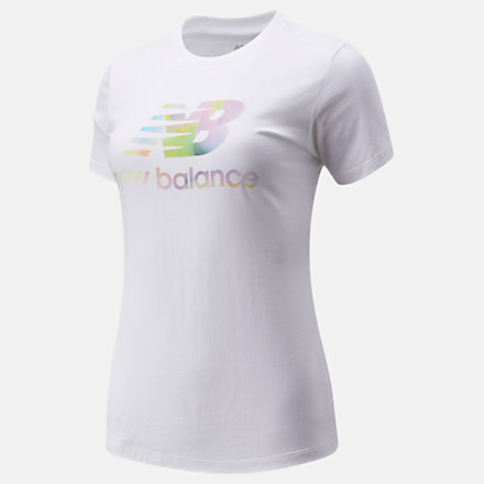 New Balance Essentials Soft Spectrum Graphic Tee, WT01569WT image number null