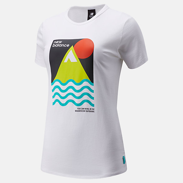 NB NB Athletics Trail Revel T-Shirt, WT01575WT