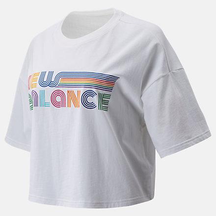 New Balance NB Pride Tee, WT01576WT image number null