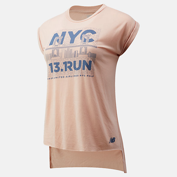 New Balance 2020 United Airlines Half 13.Run Tank, WT01623CVTO