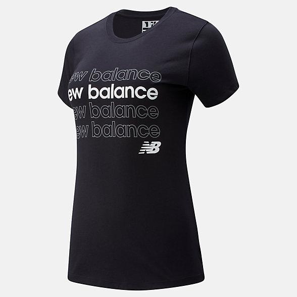 New Balance NB Classic Repeat T, WT01806BK