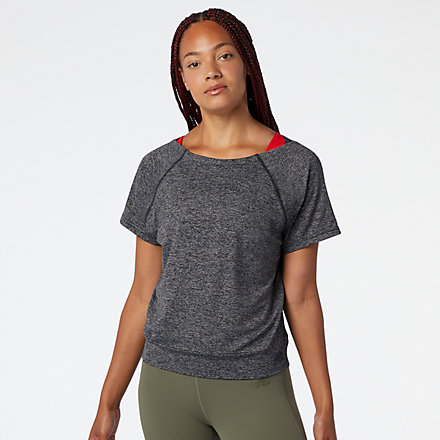 New Balance Determination Academy Tee, WT03111BKH image number null