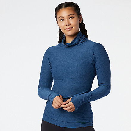 New Balance Transform Cowl Tunic, WT03120RWH image number null