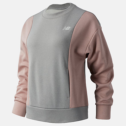 New Balance Relentless Tech Fleece Crew, WT03146SP1 image number null