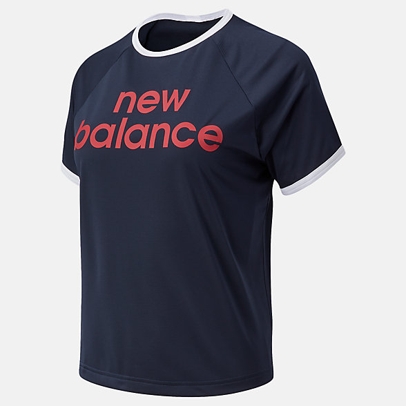 New Balance Achiever Graphic High Low Tee, WT03175ECL