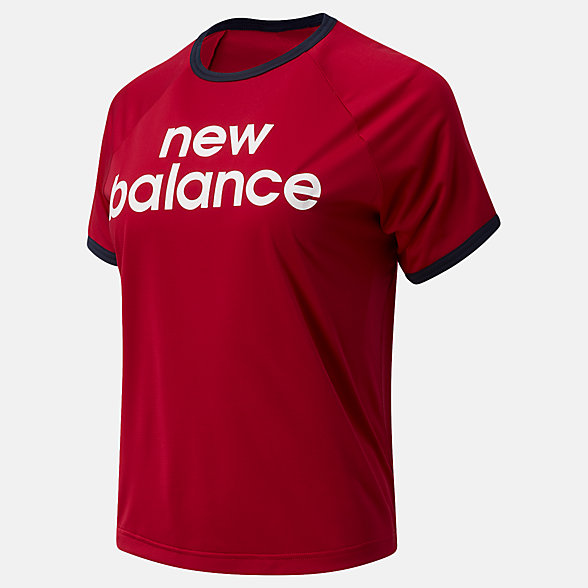New Balance Achiever Graphic High Low Tee, WT03175NCR