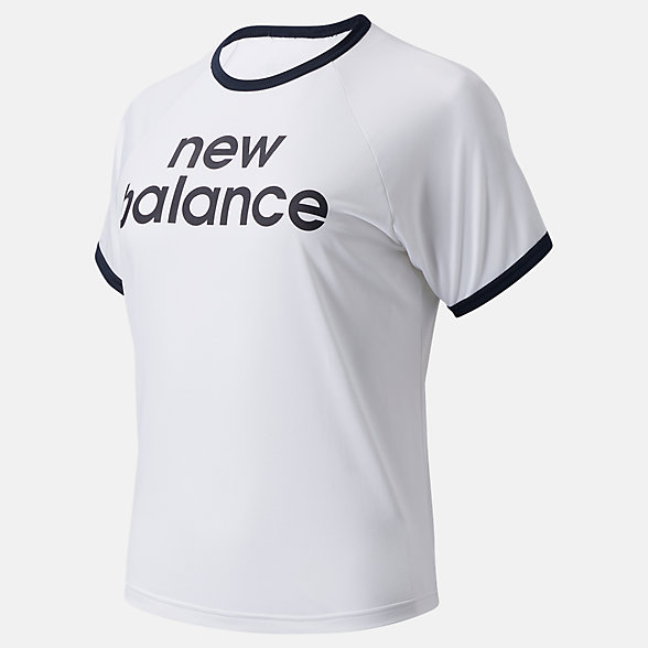 New Balance Achiever Graphic High Low Tee, WT03175WT