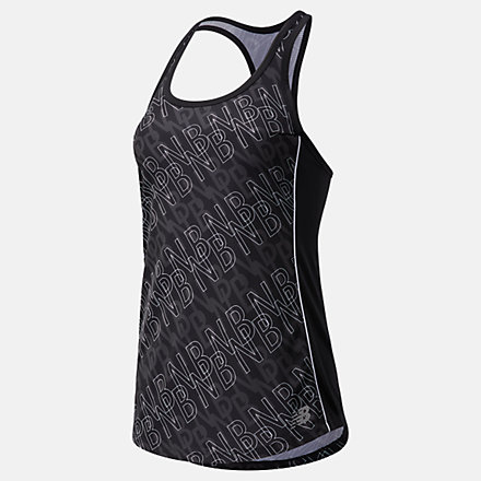 New Balance Printed Accelerate Tank, WT03202BPT image number null