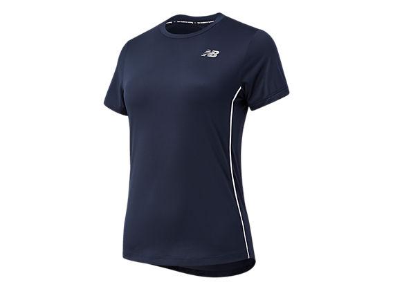 New Balance Womens Accelerate Short Sleeve Shirt