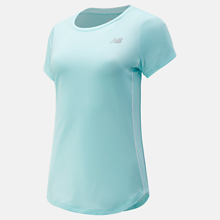 New Balance Accelerate Short Sleeve, WT03203GLC image number null