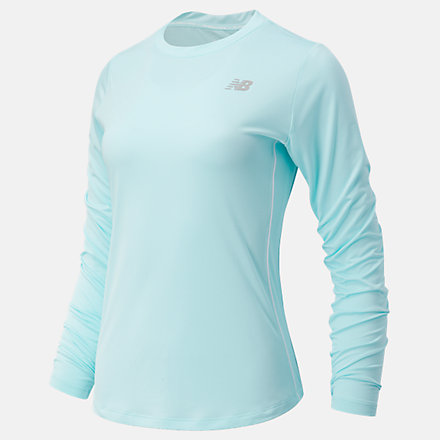 New Balance Accelerate Long Sleeve, WT03205GLC image number null