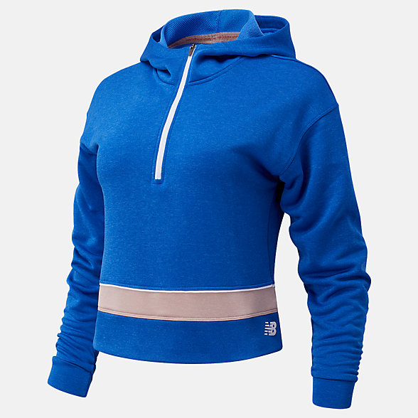 NB Camiseta de manga larga Fast Flight Half Zip, WT03217CH1
