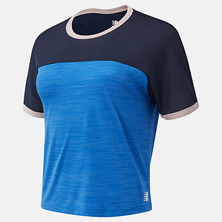 New Balance Fast Flight Short Sleeve Top, WT03222CH1 image number null