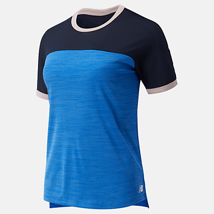 New Balance Fast Flight Top Longer Length, WT03223CH1 image number null