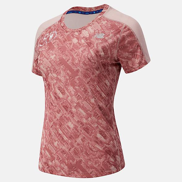 New Balance 女款冰感运动短袖T恤, WT03235MSP1