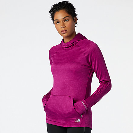 New Balance NB Heat Grid Hoodie, WT03255MLH image number null