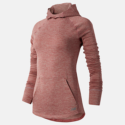 New Balance NB Heat Grid Hoodie, WT03255ORH image number null