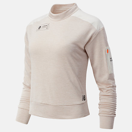 NB London Acceptance NB Heat Grid Long Sleeve, WT03256DSAH image number null