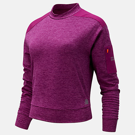 New Balance NB Heat Grid Long Sleeve, WT03256MLH image number null