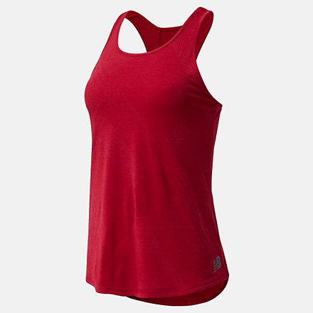 New Balance Q Speed Fuel Jacquard Tank, WT03260NCR image number null