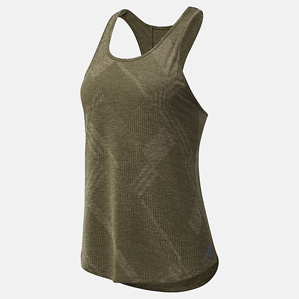 NB Top Q Speed Fuel Jacquard Tank, WT03260NG1