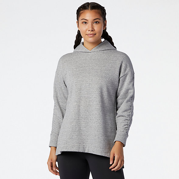 NB Transform Cinched Sleeve Kapuzenpullover, WT03452AG